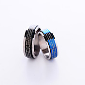 Stainless Steel Artistic Design Ring (More Colors)