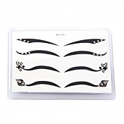 Fashionable Eyeliner Sticker 4 Pairs