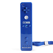 2-In-1 MotionPlus Remote Controller for Wii/Wii U (Blue)