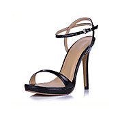 Patent Leather Stiletto Heel Sandals / Pumps Party / Evening Shoes (More Colors)