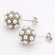 Fashion Imitation Pearl Alloy Stud Earrings