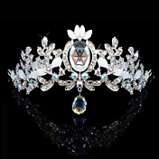 Gorgeous Rhinestone With Acrylic Wedding Tiara/ Headpiece