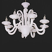 Comtemporary Iron Chandeliers with 8 Lights Candle Featured
