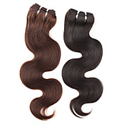 16 Inch Brazilian Remy Wavy Hair Weave Hair Extension