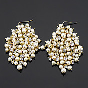 Gorgeous Pearl Alloy Earrings