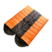 SHENGYUAN One Person 1.8M-2.0M Hollow Cotton Sleeping Bag(Orange/Blue)