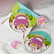 Juz Married! Wedding Car Coaster(Set of 1)