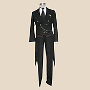 Cosplay Costume Inspired by Black Butler Sebastian Michaelis Black Tie
