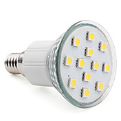 E14 12-5050 SMD 2-2.5W 100-150LM 2800-3300K Warm White Light LED Spot Bulb (220-240V)