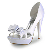 Satin Stiletto Heel Pumps / Sandals Wedding Shoes