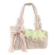 Fashion Fabric Special Occasion Shoulder Bag With Flower and Bowknot