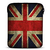 Union Jack Neopren Tablet Sleeve Cover til 10&quot; Samsung Galaxy Tab2, iPad, Motorola Xoom