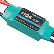 flycolor 110a 6s esc de avio com motor brushless (cores aleatrias)