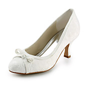 Lace Upper High Heels Peep-toes With Bowknot Wedding Bridal Shoes More Colors Available