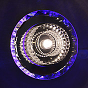 1W Comtemporary Crystal Flush Mount with 1 LED Light