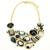 Gorgeous Alloy With Irregular Crystal Women's Necklace