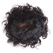 100% Indian Remy Hair 6 Inch Short 7 Inch By 8 Inch Mono Top Men's Toupee