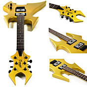 Derulo - (BATS) Bats Shape Electric Guitar with Bag/Strap/Picks/Cable/Whammy Bar