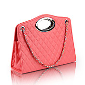 Candy Color Checkered Chain Bag
