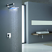 Sprinkle by Lightinthebox - Color Changing LED Shower Faucet with 8 inch Shower Head