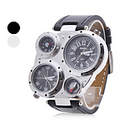 Montre  Quartz Analogique, En PU, Unisexe - Couleurs Assorties