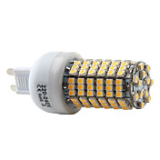 G9 138-3528 SMD 7W 350-450LM 2800-3300K Warm White Light LED Corn Bulb (220-240V)