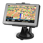 4.3 Inch Touchscreen Car GPS Navigator Support TF,USB,MP3,MP4