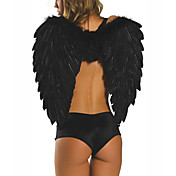Sexy Women Black Feather Angel Wings(1 Pieces)