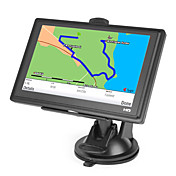 5 polegadas touchscreen carro GPS Navigator TF, USB, MP3, MP4, WMV