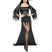 Hot Sexy Witch Mama`s Dress Halloween Costume(3Pieces)