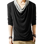 Men's V-neck Slim T-shirt