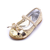 Kids' Leatherette Flat Heel Closed Toe With Sequin Party/Evening Shoes (More Colors)