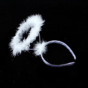 White Color Angel Halo Halloween Headband (1 piece)