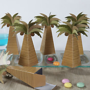 Coconut Tree Design Favor Box (Set of 12)