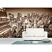 Cities and Cityscapes Architectural Mural