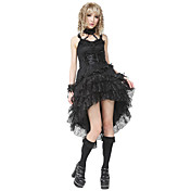 Gothic Queen Lace Dress Lolita Costume (1 Piece)