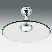 12W Metal LED Ceiling Light Chrome Finished