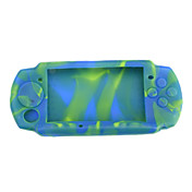 Camouflage Silicon Skin Protect Case for Sony PSP 3000