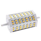 R7S 9W 42x5050 SMD 540-630LM 2700-3200K Warm White Light LED Corn Bulb (85-265V)