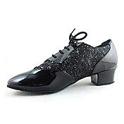 Men's Leatherette / Sparkling Glitter  Ballroom Dance Shoes