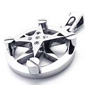 Men's Star Pendant(Free Chain)(3.3*2.3*0.6CM)
