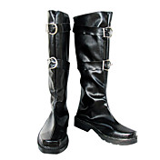 Cosplay Boots Inspired by Final Fantasy Sephiroth Black