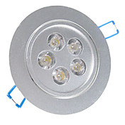 5W LED Ceiling Light with 5 LEDs in Round Feature
