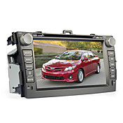 8 pulgadas de coches reproductor de DVD para TOYOTA COROLLA (Bluetooth, GPS, iPod, RDS, SD / USB, control del volante, pantalla tctil)