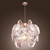 1-light Artistic Acryl Pendant Light
