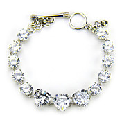 Gorgeous Alloy With Rhinestone Women's Bracelet