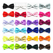 Men's Trendy Solid Color Bow Tie
