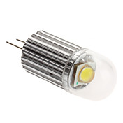 G4 1.5W 130-150LM 6000-6500K Natural White Light LED Spot Bulb (12V)
