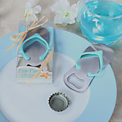 &quot;Pop the Top&quot; Flip-Flop Bottle Opener Favor