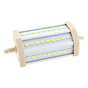 R7S 13W 27x5630 SMD 1150-1200LM 6000-6500K Natural White Light LED Corn Bulb (85-265V)